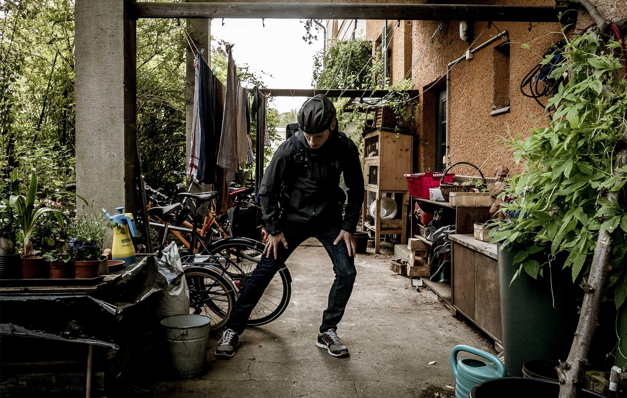 Dehnübungen nach dem Radfahren