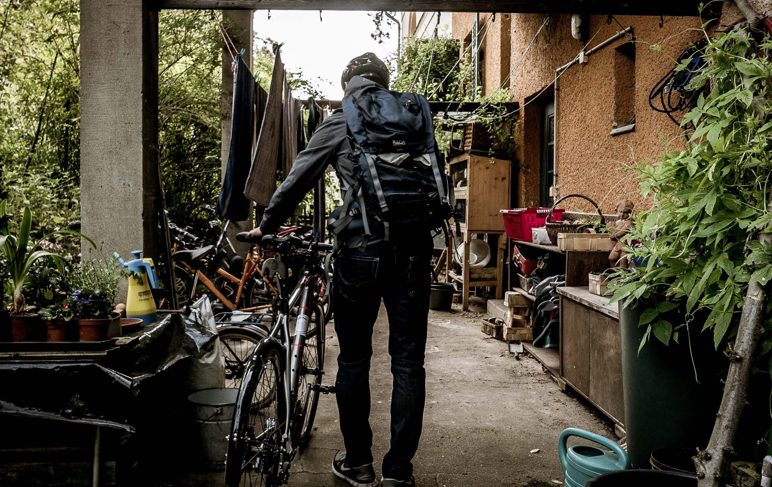 Dehnübungen nach der Radtour