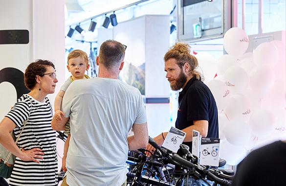 fahrrad.de Stores - Beratung