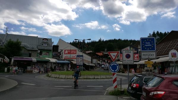 Tschechische Grenze - Stoneman Erzgebirge MTB