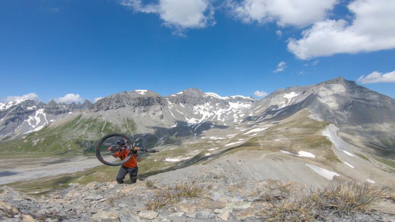 Mountainbike Reise Flims/Laax - Cassons