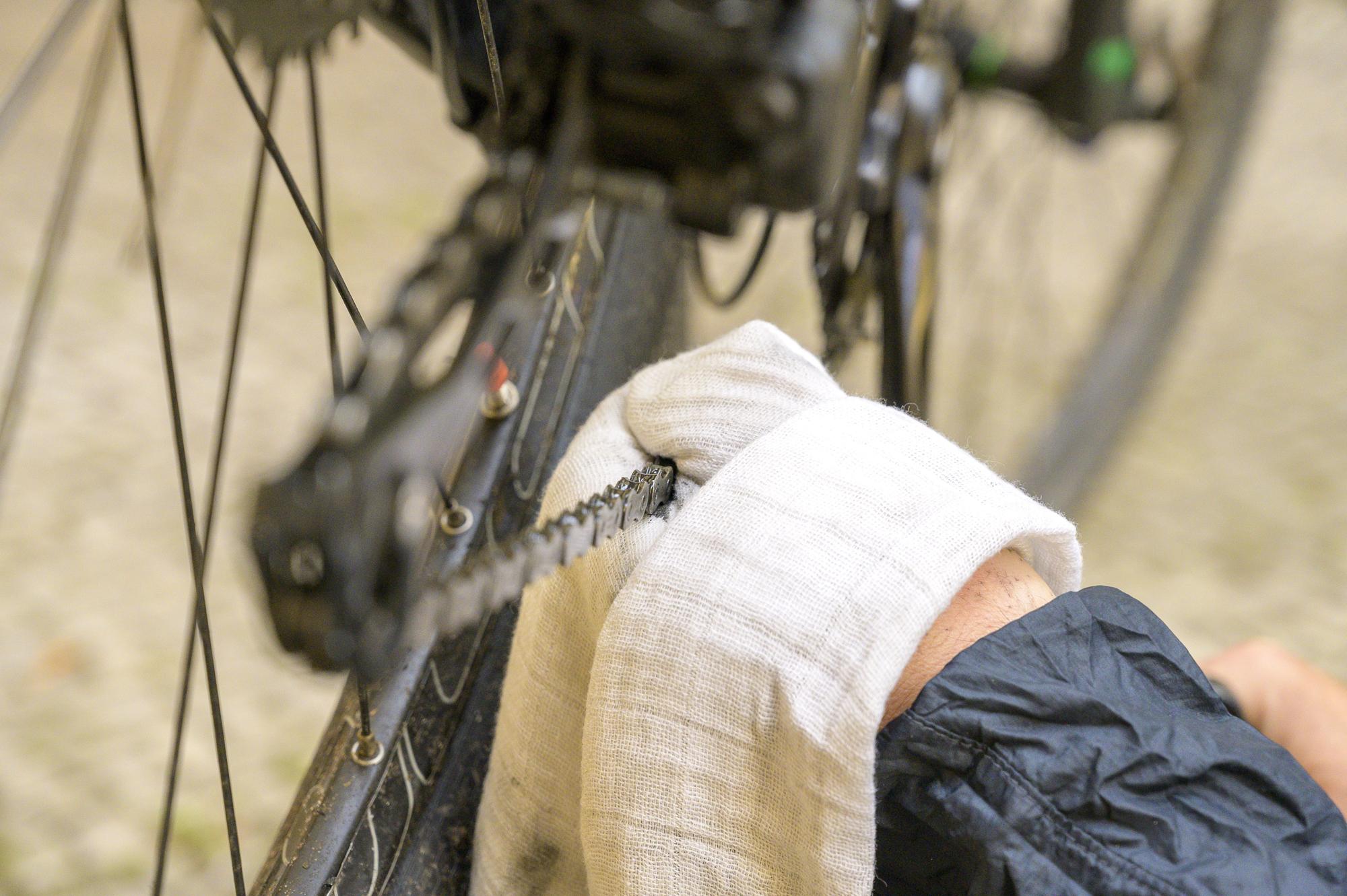Fahrradkette putzen und reinigen