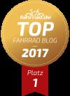 Top Fahrrad-Blog Platz eins