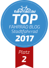 Top Fahrrad-Blog Platz 2 Stadtrad