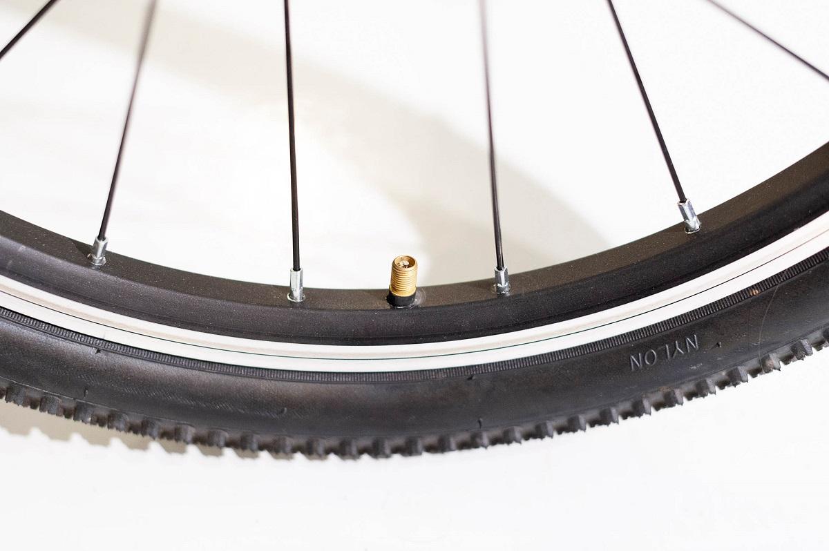 Fahrrad Reifendruck - Autoventil