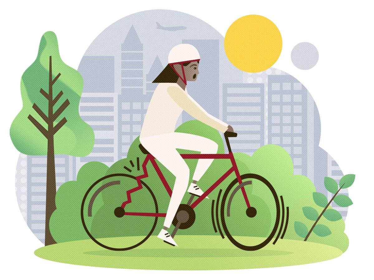 5 Ausreden nicht Rad zu fahren und warum du doch fahren solltest - fahrrad kaputt