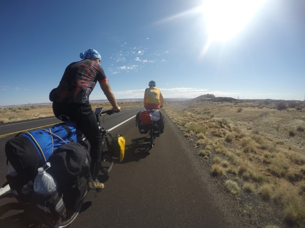 Bikepacking Radreise - USA - Arizona - Utah
