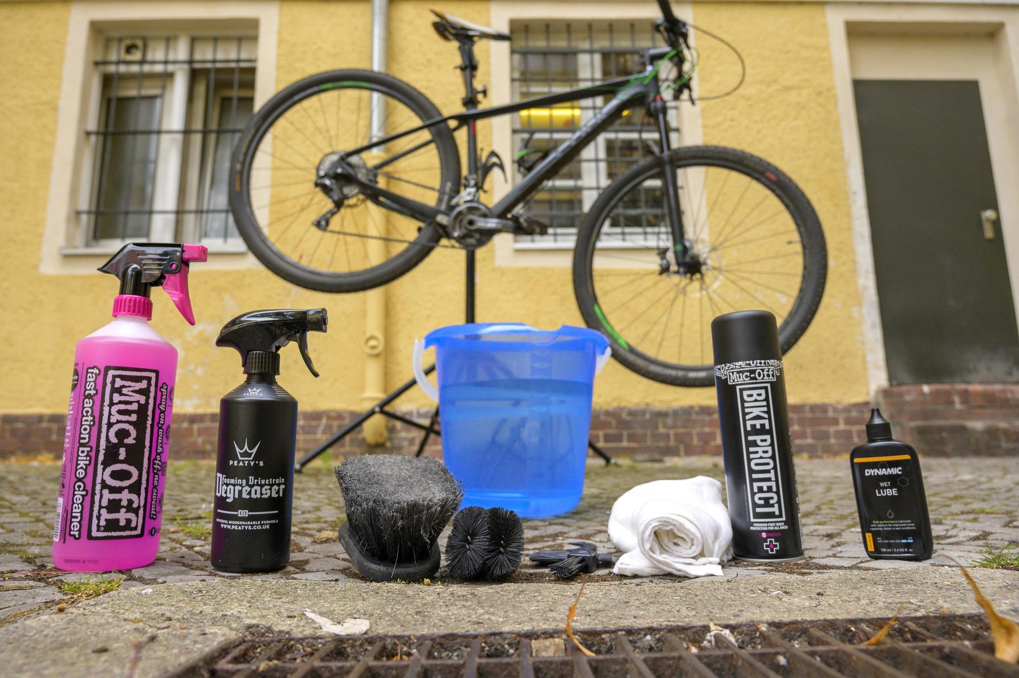 fahrrad Putzmittel - was braucht man für die Fahrradrenigung