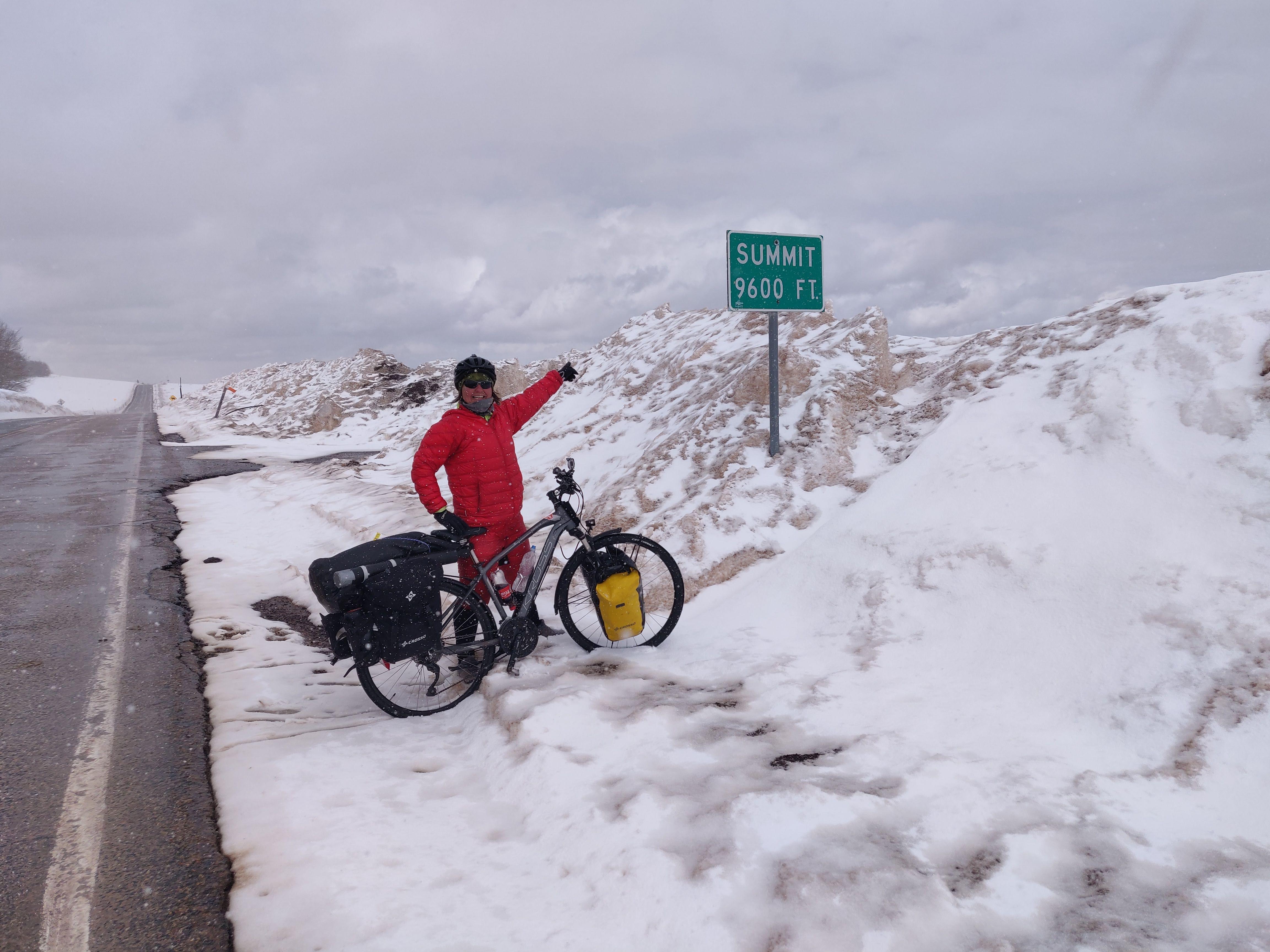 Schnee und Wetter - Bikepacking USA - die richtige Kleidung
