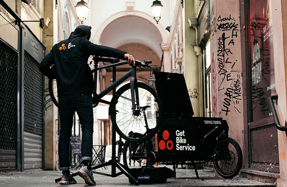 Vorteile mobiler Aufbauservice fahrrad.de