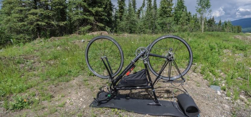 Bikepacking - Radreparatur unterwegs