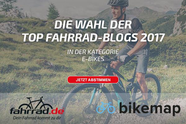 Top Fahrrad-Blog Kategorie E-Bike und Pedelecs