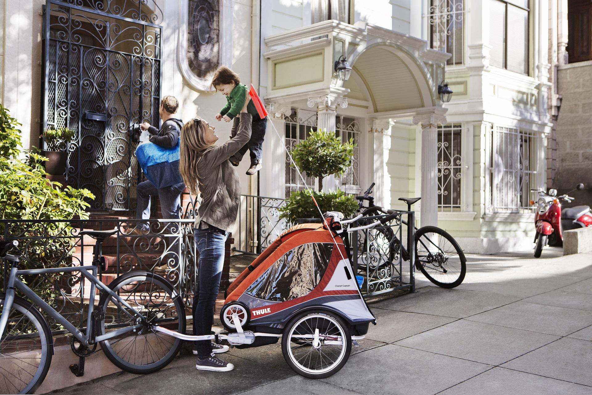 Kids on tour - Fahrradanhänger für Kinder