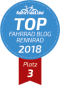 Top Fahrrad Blog Platz drei Kategorie Rennrad