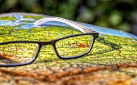 Landkarte - Bikepacking - Routenplanung
