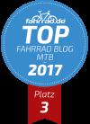 Top Fahrrad-Blog Platz 3 Kategorie Mountainbike