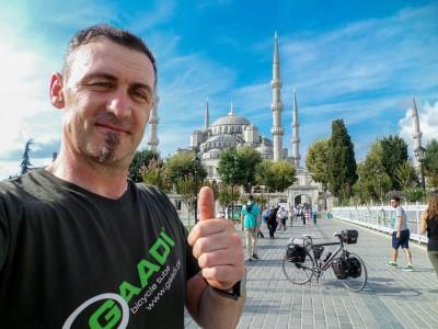 Radreise nach Istanbul - Sven Marx