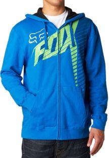 Fox Hoody in Blau