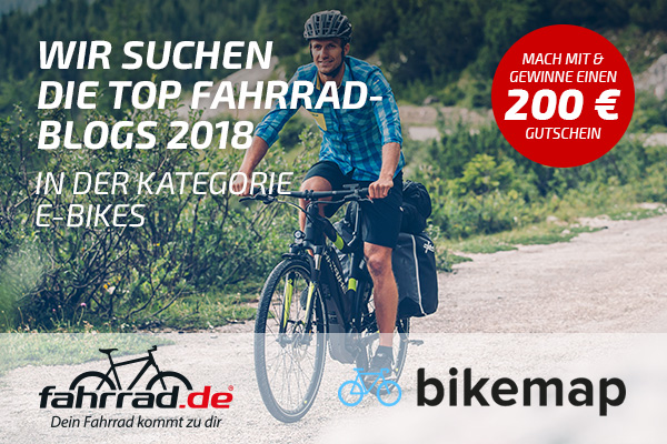 Top Fahrrad-Blogs Kategorie E-Bike & Pedelec