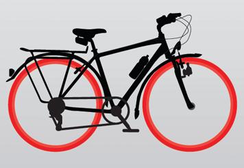 Fahrradreifen Beleuchtung   Fahrrad Reparieren Ratgeber Von Fahrrad De