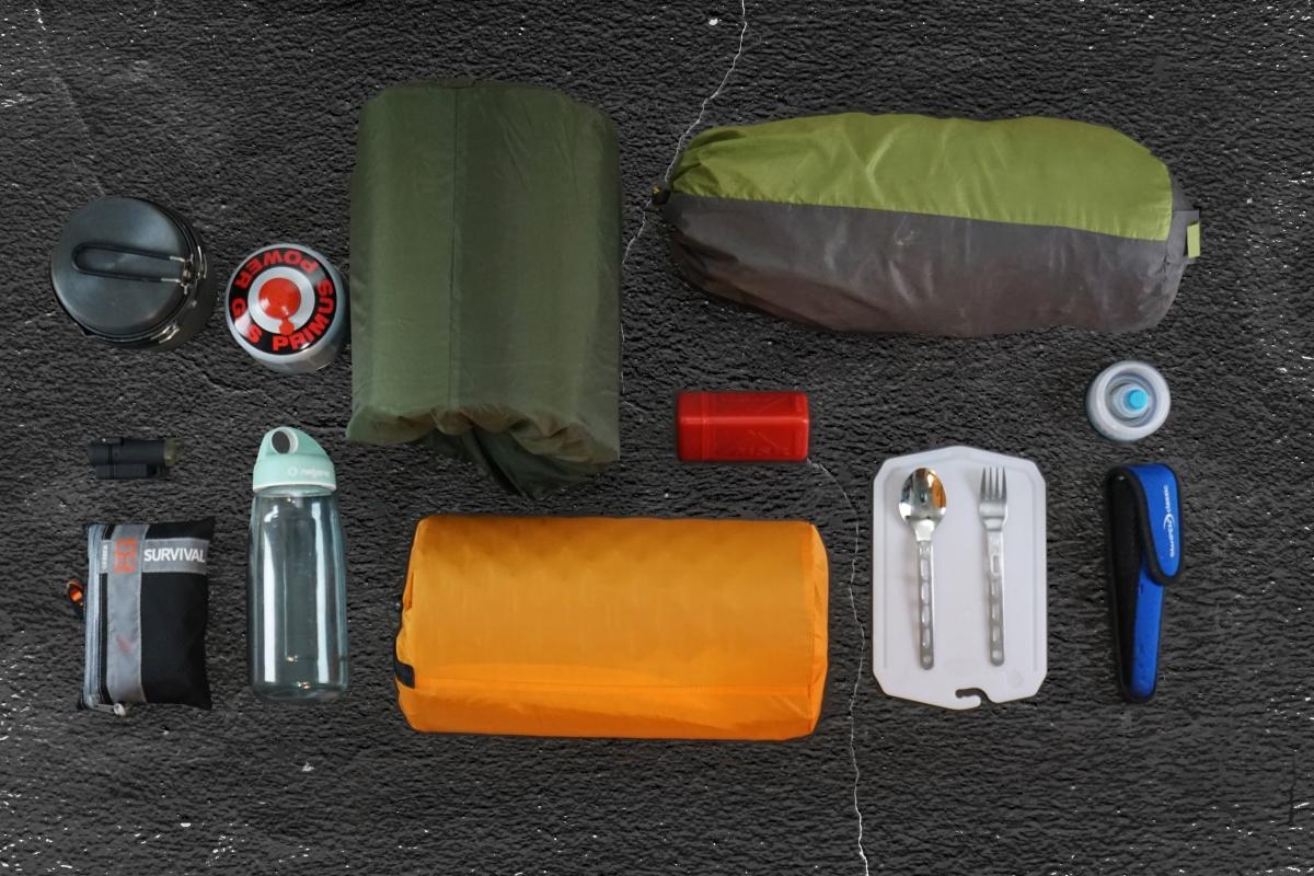 Bikepacking - das Gepäck