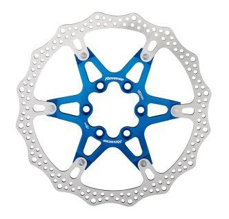 Reverse Bremsscheibe in Blau