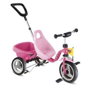 Rosa Mädchen-Dreirad