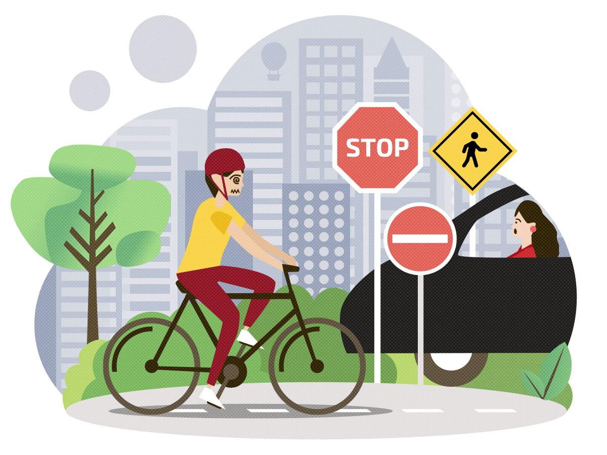 5 Ausreden nicht Rad zu fahren und warum du doch fahren solltest - zu gefährlich