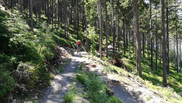 Trails fahren - Stoneman Miriquidi