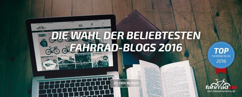 Top Fahrrad-Blogs 2016 - die Wahl