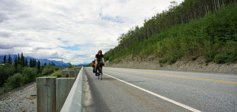 Von Alaska nach New York mit dem Rad- Radreise, Bikepacking Leo
