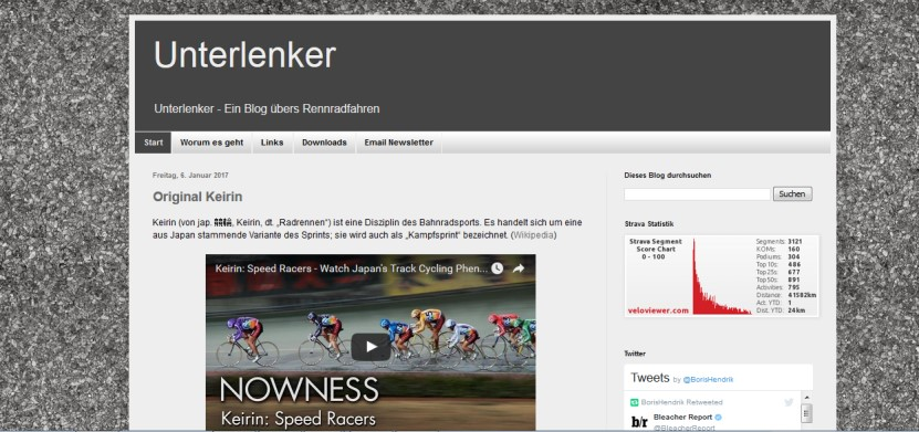 Interview mit Top Fahrrad-Blog Schreiber Boris - unterlenker.com