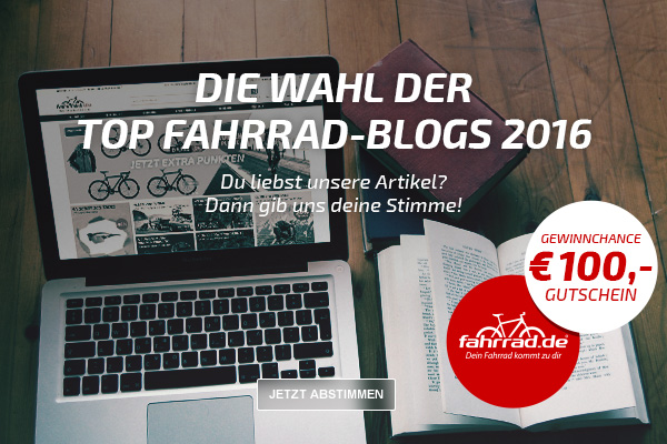fahrrad.de Top Fahrrad-Blog Wahl 2016