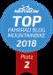 Top Fahrrad Blogs - zweiter Platz Mountainbike