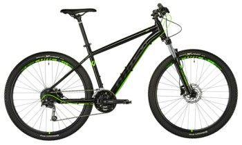 GHOST Kato 4.7 Mountainbike in der Farbkombination schwarz/neongrün