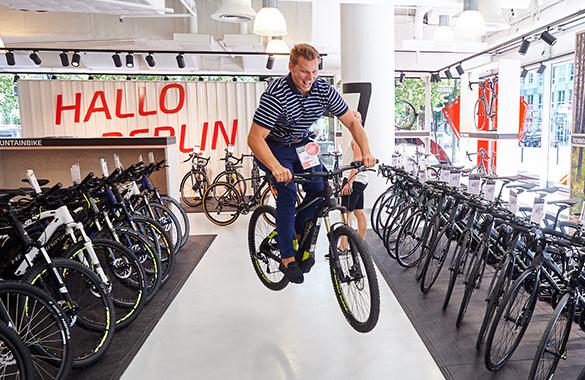 fahrrad.de Stores - Probefahrten